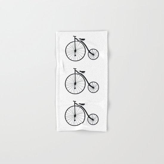 Vintage Bicycle  Hand & Bath Towel
