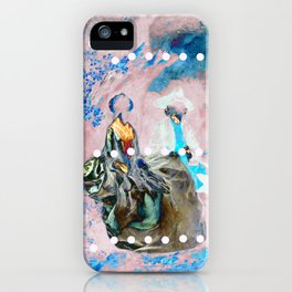 The Lovers In Pink iPhone Case