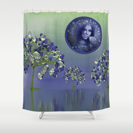 nature is precious and time is running out Shower Curtain