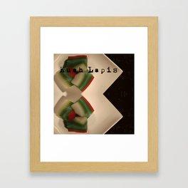 九层糕 - KUEH LAPIS (PERANAKAN DESERT) Framed Art Print