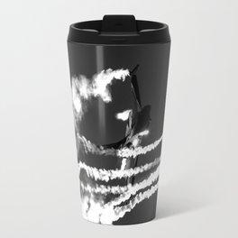 Belgian F16 and Flares Travel Mug