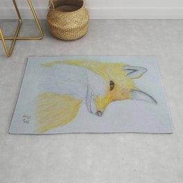 A beautiful fox Rug