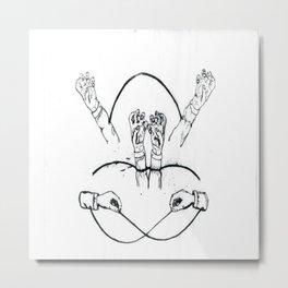 Hands That Bind Metal Print