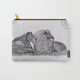 Family lion Carry-All Pouch