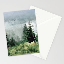 Pine Trees 2 Stationery Cards