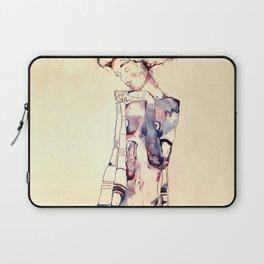 Purple Lady Laptop Sleeve