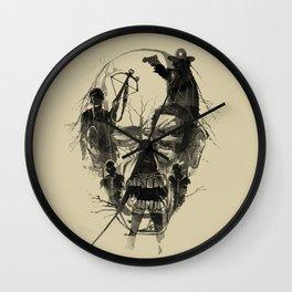 Dead Walker Wall Clock