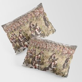 Roman Legion vs Greek Phalanx Pillow Sham