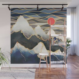 Ice Mountains Wall Mural