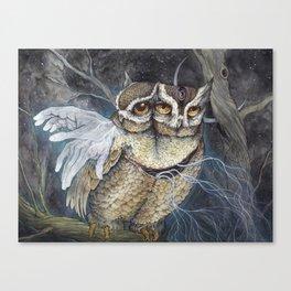 the Sleepless Night Canvas Print