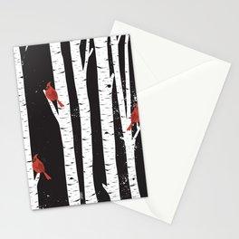 Northern Cardinal Birds Stationery Cards