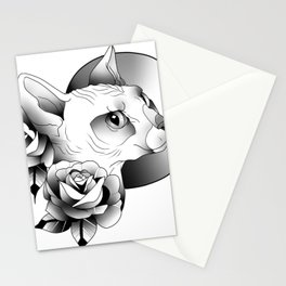 Neo Sphinx Stationery Cards
