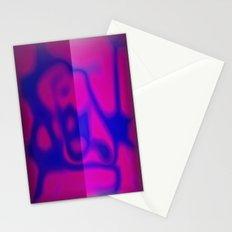 Blue Color Leak Stationery Cards