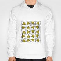 yellow pattern Hoodies featuring Yellow by Ivano Nazeri