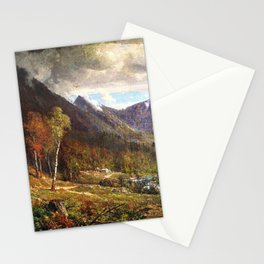 Crawford Notch 1872 By Thomas Hill   Reproduction Stationery Cards