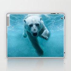 Polar Bear Swimming Laptop & iPad Skin