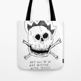 GETTING RID OF PUNK-ROCK MYTHS #1 Tote Bag