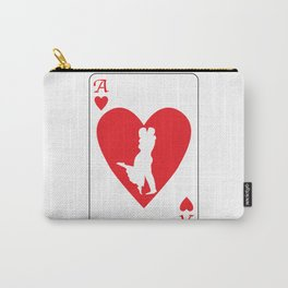 Ace of Hearts Carry-All Pouch
