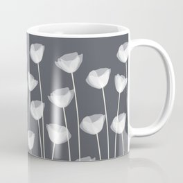 White Poppies Coffee Mug