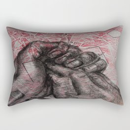 Wringing in my Head Rectangular Pillow