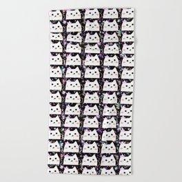cats 44 Beach Towel