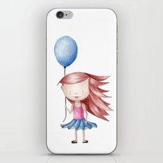 Balloon Love - Stay Grounded iPhone & iPod Skin