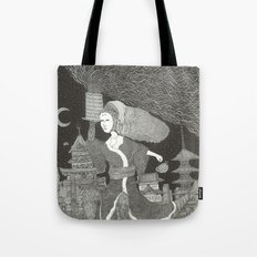 Tenzaru Girl Tote Bag