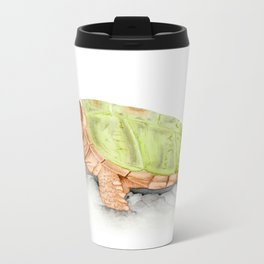 Snapping Turtle Metal Travel Mug