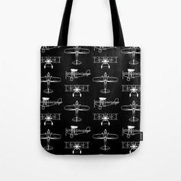 Biplanes // Black Tote Bag