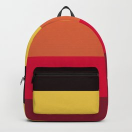 Strong summer colours geometric vertical lines pattern for home decoration Backpack
