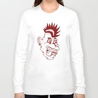 punk Long Sleeve T-shirts featuring Punk by Adam Metzner