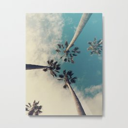 Palm tree, Tropical decor Metal Print