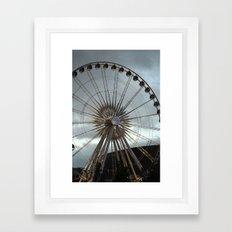 'round we go Framed Art Print