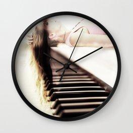 coup de grâce Wall Clock