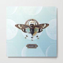 moon cicada Metal Print