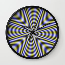 Eye Boggling Coils Wall Clock