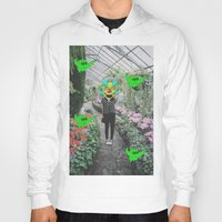 botanical Hoodies featuring botanical  by Mike McDonnell