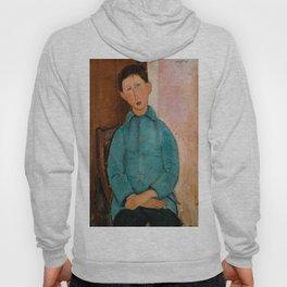 "Amedeo Modigliani ""Boy in a Blue Vest"" 1918 Hoody"