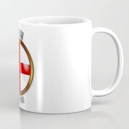 English Proud Flag Button Coffee Mug
