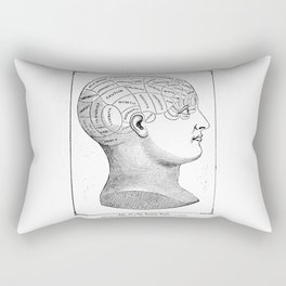 Phrenology2 Rectangular Pillow