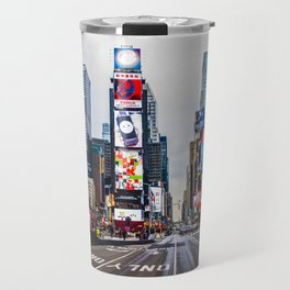 First light in Times Square Travel Mug