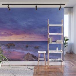 Ocean Beach Dusk Sunset Photography Wall Mural