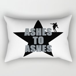 ASHES TO ASHES - BOWIE Rectangular Pillow