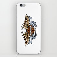 harley iPhone & iPod Skins featuring harley by Megoer