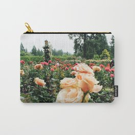 Couple at International Rose Test Garden Carry-All Pouch