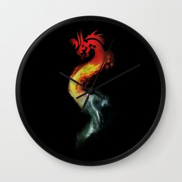 The Girl With The Dragon Tattoo Wall Clock