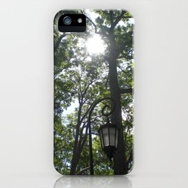 Lamppost, Wellesley College iPhone Case