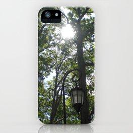 Lamppost, Wellesley College iPhone Case