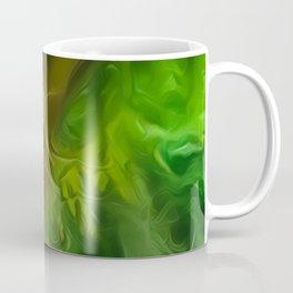Dream Light Green Tree Coffee Mug