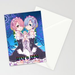 RE:Zero Rem & Ram Stationery Cards